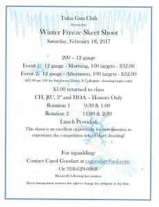 2017 Winter Freeze FLYER