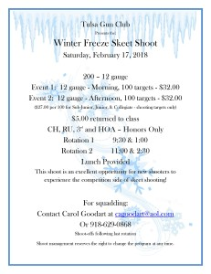 2018 Winter Freeze FLYER